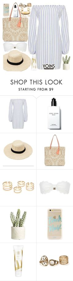 """""""Summer Essentials"""" by vanjazivadinovic ❤ liked on Polyvore featuring Bobbi Brown Cosmetics, New Look, Marysia Swim, Allstate Floral, Sonix, James Read, Tiffany & Co., polyvoreeditorial, Poyvore and yoins"""