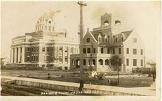 Courthouse & Jail around 1914