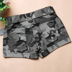 summer 2013 women's military camouflage shorts casual pants-inShorts from Apparel & Accessories on Aliexpress.com