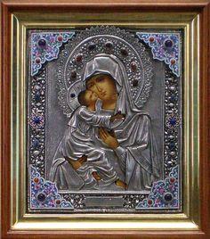 Икона Божией Матери «Владимирская». Сертификат 9