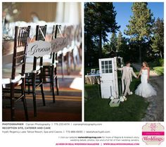 Featured Real Wedding: Regina & Andrew is published in Real Weddings Magazine's Summer/Fall 2015 Issue! Vendors include: www.CiprianPhotography.com; www.LakeTahoeHyatt.com. For more photos and their full list of wedding vendors, visit: http://www.realweddingsmag.com/?p=52766