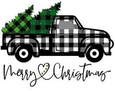 8 essential for a Christmas decor that smells of tradition - HomeCNB Merry Christmas, Christmas Truck, Plaid Christmas, Christmas Shirts, Christmas Holidays, Christmas Crafts, Christmas Decorations, Christmas Door, Christmas Images