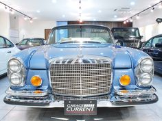Classic cars dealer Garage Current has a large selection of quality classic cars for sale including Porsche RUF, Brabus, and Mercedes Benz AMG. Mercedes S Class, Mercedes Benz Cars, Vintage Cars, Antique Cars, M Benz, Benz S Class, Classic Mercedes, Cars For Sale, Classic Cars