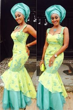 Beautiful Lace Gown Style ~Latest African Fashion, African Prints, African fashion styles, African clothing, Nigerian style, Ghanaian fashion, African women dresses, African Bags, African shoes, Kitenge, Gele, Nigerian fashion, Ankara, Aso okè, Kenté, brocade. ~DK