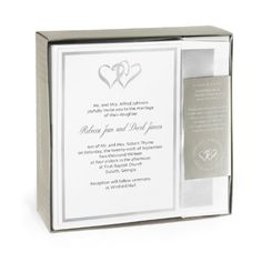 89 best wedding invitations images on pinterest wedding stationery hortense b hewitt 9036149 triple pearl border invitation kit walmart stopboris Images