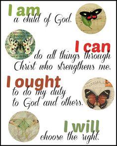 ladydusk: I Am, I Can, I Ought, I Will: Charlotte Mason's Motto Explained for Upper Elementary Students