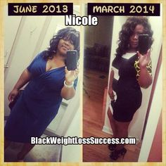 Weight Loss Success Story of the Day: Nicole lost 27 pounds, going from a size 16 to a size 10.
