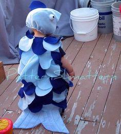disfraz de pez