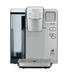LOVE my Keurig coffee pot! Cuisinart Single Serve Brewing System, Silver - Powered by Keurig Single Cup Coffee Maker, Best Coffee Maker, Single Serve Coffee, Coffee Maker Reviews, Charcoal Water, Reusable Coffee Filter, Best Espresso, Espresso Coffee, Thing 1