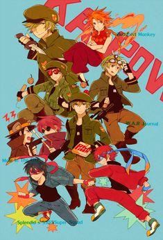 anime zero chan | Tags: Anime, Happy Tree Friends, The Mole (HTF), Splendid (HTF ...