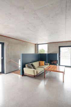 Enebolig Øvre Smedstadvei   wood arkitektur+design Wood, Table, Furniture, Design, Home Decor, Decoration Home, Woodwind Instrument, Room Decor, Timber Wood