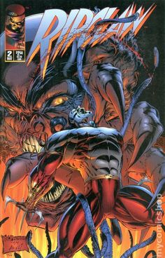 Ripclaw vol 1 Old Comics, Dc Comics Art, Image Comics, Marvel Dc Comics, Marvel Heroes, Comic Book Characters, Comic Character, Comic Books Art, Book Art