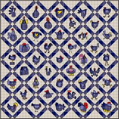 chick 25 quilt