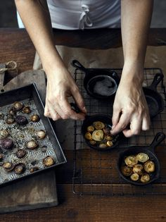 in the kitchen with Nikole Herriott of artisan woodworking brand Herriott Grace http://www.flickr.com/photos/fortysixthatgrace/ http://herriottgrace.bigcartel.com/ #PHOTOGRAPHY by John Cullen www.johncullenphotographer.com #kitchen #food_preparation