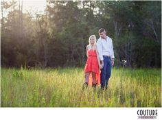 airboat engagement photos