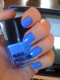 Really vibrant blue!