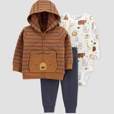 Carters Baby Boys, Toddler Boys, Boys Winter Clothes, Baby Clothes Online, Clothes Women, Fashion Clothes, Kids Fashion, Fleece Cardigan, Baby Winter