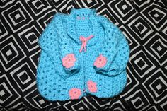 Flower Power Sweater by CrabappleCrochet on Etsy, $35.00