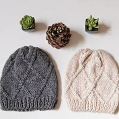 Ravelry: Chess Beanie pattern by we are knitters