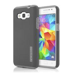 Incipio Samsung Galaxy Grand Prime Dual PRO Case - Grey / Grey