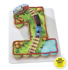 Thomas The Train Cake Using Wilton Cake Pan For 3d Train