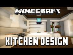 Amazing Minecraft Tutorial: Modern Kitchen Design (How To Build A Modern House Ep.12 Part 32