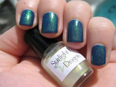 DizzyNails: Enter the Dragon!  Misa On the Edge with Starlight and Sparkles Dragon