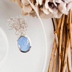 C´moon Came! beautiful unique acrylic/silver came pendant http://shop.designshopoutlet.com/brand/109/tanna-design