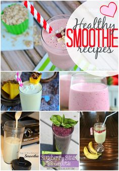 12 Healthy Smoothie Recipes