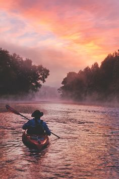 An early Morning paddle on the Gasconade River in Missouri Kansas City Missouri, Missouri River, See It, Early Morning, Kayaking, Charity, Adventure, Lighting, Rivers