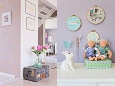 Perfectly Pretty Pastel Girls Bedroom and Home Style with Handmade Touches from Mrs Jones