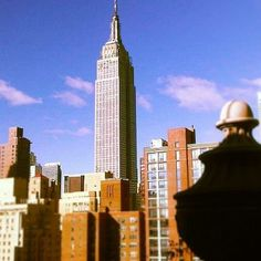 What a view! Admire one of New York City's most iconic buildings from Affinia Shelburne. (Instagram: Evolvetravel)