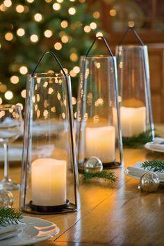 Acadia Glass Lantern | Gardener's Supply
