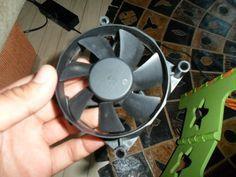 Old PC Fan ----> Wind Turbine in 10 Minutes More