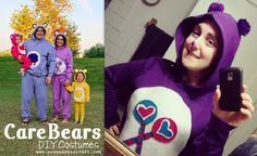 Care Bear costume for Halloween 2012! Turned out well! :]