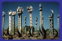 Les différents arts funéraires du peuple Malga