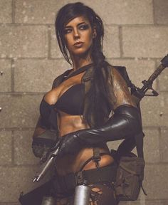 Meet Alex Zedra – angel with guns - Why We Train - Bodybuilding & Fitness Metal Gear Solid Quiet, Alex Zedra, Mädchen In Uniform, Military Girl, Female Soldier, Warrior Girl, Military Women, Best Cosplay, Cosplay Girls