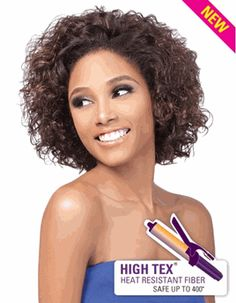 Outre Quick Weave Synthetic High Tex Fiber Wig Tika