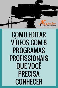Como Editar Vídeos com 8 Programas profissionais que Você Precisa Conhecer