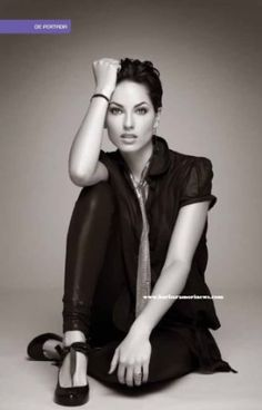 Barbara Mori Barbara Mori, Most Beautiful Women, Beautiful People, Beauty Around The World, Celebs, Actresses, Boho, Black And White, Sexy