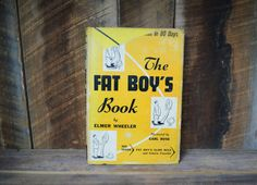The Fat Boys Book Funny Literature by NewFoundVintiques on Etsy