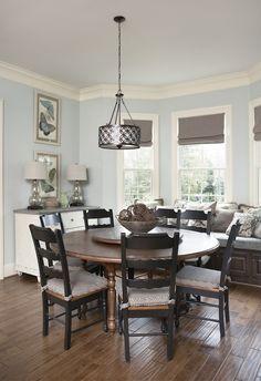 Breakfast Area | Milestone Custom Homes | Greenville SC