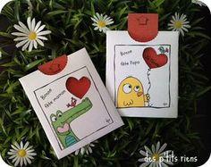 cartes fête des Mères et des pères