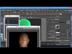 Portrait Lighting Setup with V-Ray 3.0 for Maya Part 1 - YouTube