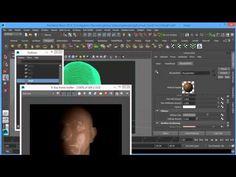 Portrait Lighting Setup with V-Ray 3.0 for Maya Part 1 - YouTube