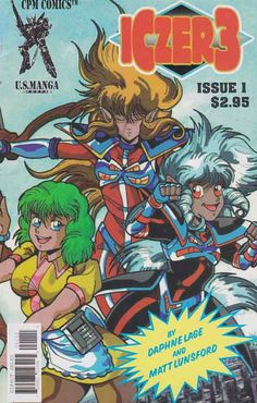 Iczer 3 #1 Near Mint $3.00