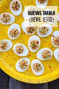 Huevos Diablo {Devil Eggs}