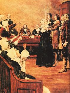Salem Witch Trials: The Fungus Theory