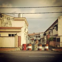 Photo by jolinwashere |    #street #outdoor #malaysia #asia #driving #road #cloudy #house