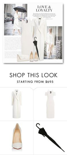 """""""Без названия #7157"""" by bliznec ❤ liked on Polyvore featuring Joseph, Roland Mouret and Christian Louboutin"""